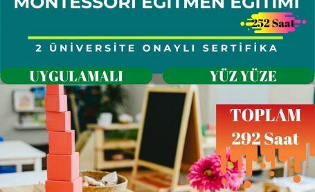 2021 Yılı Son Montessori Eğitmen Eğitimi Programları